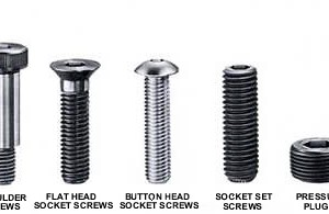 HEX SOCKET SCREWS CUP POINT