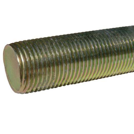 Pack of 4 3//8-16 x 2 Yellow Zinc B7 Alloy Steel Threaded Rod,