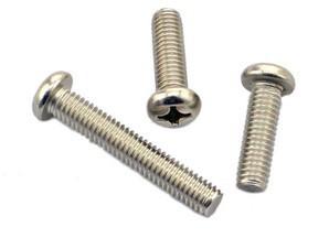 pan-head-Phillips-machine-screw SS