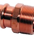Copper Male Reduing Adapter, P x MPT - SMALL